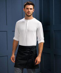 Short bar apron for men