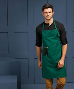 Deluxe Apron with Pocket Bottle