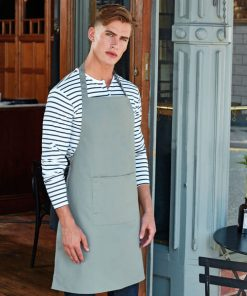 Waiter Bib apron with pocket