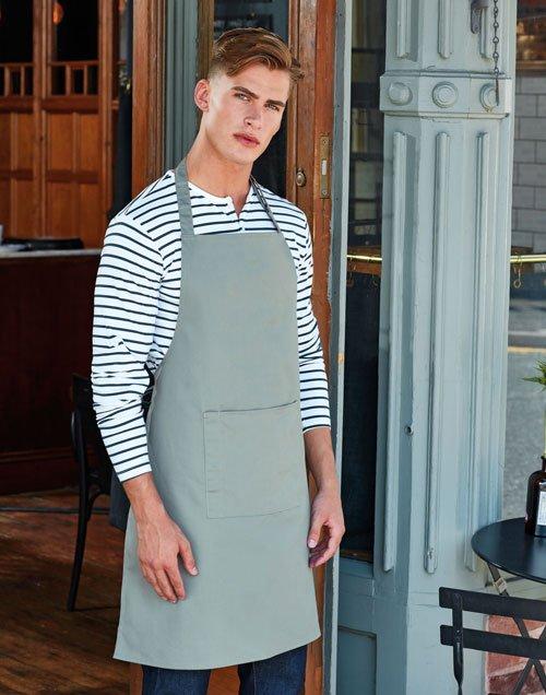 Waiter Bib apron with pocket