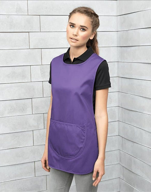 Purple Tabard with Pocket