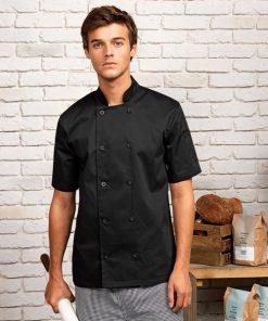 Short Sleeve Chefs Jacket