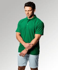 Uneek Kelly Green Polo Shirt