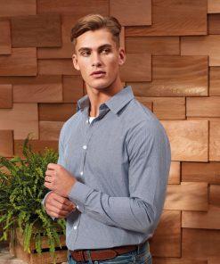 Gingham shirt for men