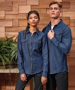 Men's Jean Stitch Denim Shirt