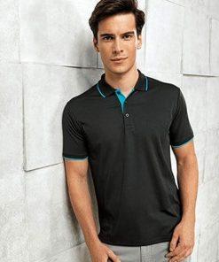 PR618 Contrast Polo Shirt