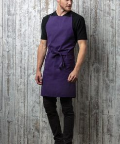 Navy Kustom Kit Bib Apron