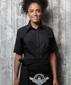 KK735 Short Sleeve Ladies Bar Shirt