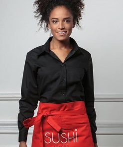 KK738 Long Sleeve Ladies Bar Shirt
