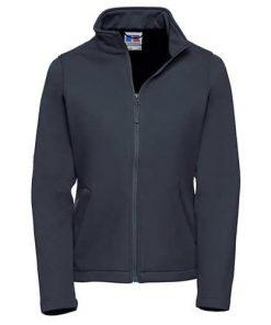 Ladies Navy Softshell Jacket
