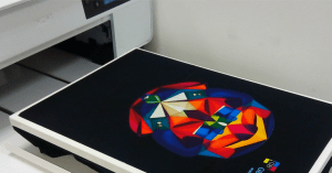 DTG Direct to Garment Printing example