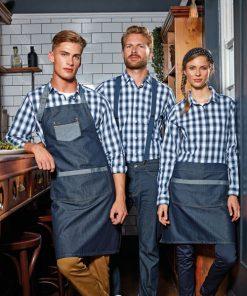 Denim Apron for Chefs
