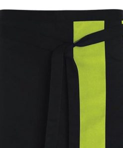 contrast waist apron