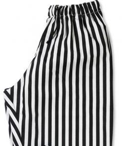 Stripe teflon coated chef trouser zoom