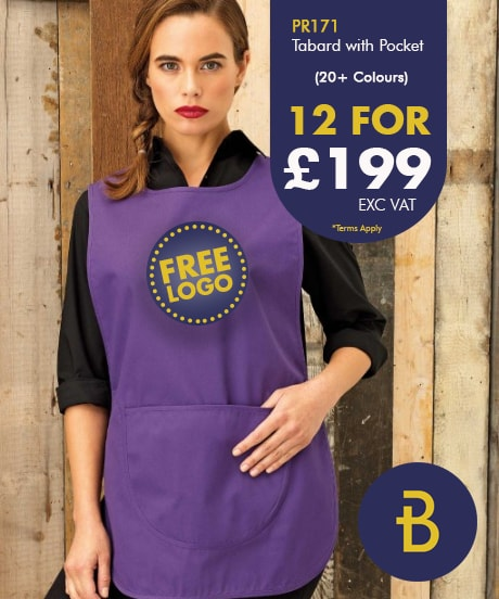 PR171 Tabard with Free Logo Deal