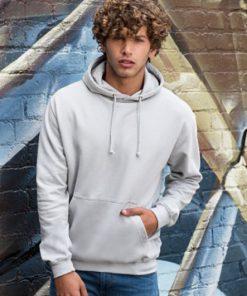 Overhead College Hooded Sweatshirt Model