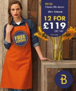12 for £119 Bib Apron Deal