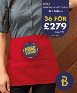 36 Waist Aprons for £279 - Banksford Deals
