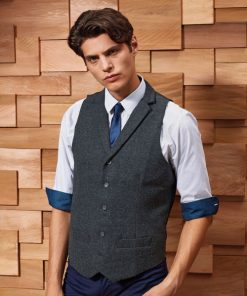 Men's Herringbone Waistcoat