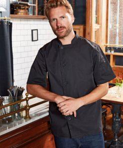 Short Sleeve Chef's Jacket