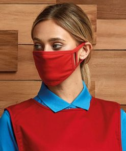 PR799 Red Face Mask